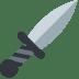 🗡️ dagger Emoji on Twitter Platform