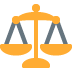 ⚖️ balance scale Emoji on Twitter Platform