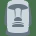 🗿 Moai Emoji on Twitter Platform