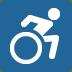 ♿ wheelchair symbol Emoji on Twitter Platform