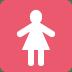 🚺 women's room Emoji on Twitter Platform
