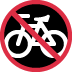 🚳 no bicycles Emoji on Twitter Platform