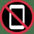 📵 no mobile phones Emoji on Twitter Platform