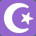 ☪️ star and crescent Emoji on Twitter Platform