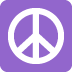 ☮️ peace symbol Emoji on Twitter Platform