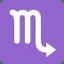 ♏ Scorpio Emoji on Twitter Platform