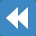 ⏪ fast reverse button Emoji on Twitter Platform
