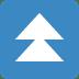 ⏫ fast up button Emoji on Twitter Platform