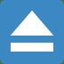 ⏏️ eject button Emoji on Twitter Platform