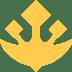🔱 trident emblem Emoji on Twitter Platform