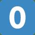 0️⃣ keycap: 0 Emoji on Twitter Platform