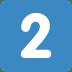 2️⃣ keycap: 2 Emoji on Twitter Platform