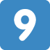 9️⃣ keycap: 9 Emoji on Twitter Platform