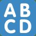 🔠 input latin uppercase Emoji on Twitter Platform