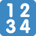 🔢 input numbers Emoji on Twitter Platform