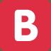 🅱️ Pulsante B (Gruppo Sanguigno) Emoji sulla Piattaforma Twitter