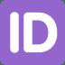 🆔 ID Button Emoji on Twitter Platform