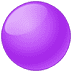 🟣 Purple Circle Emoji on Twitter Platform