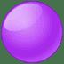 🟣 purple circle Emoji on Twitter Platform