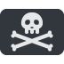 🏴‍☠️ pirate flag Emoji on Twitter Platform
