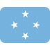🇫🇲 flag: Micronesia Emoji on Twitter Platform