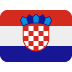 🇭🇷 flag: Croatia Emoji on Twitter Platform