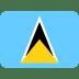 🇱🇨 flag: St. Lucia Emoji on Twitter Platform