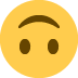 🙃 Upside Down Face Emoji on Twitter Platform