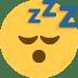 😴 sleeping face Emoji on Twitter Platform