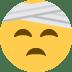 🤕 face with head-bandage Emoji on Twitter Platform