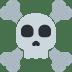 ☠️ skull and crossbones Emoji on Twitter Platform