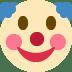 🤡 Wajah Badut Emoji pada Platform Twitter