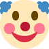 🤡 clown face Emoji on Twitter Platform