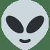 👽 alien Emoji on Twitter Platform