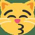😽 kissing cat Emoji on Twitter Platform