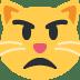 😾 pouting cat Emoji on Twitter Platform