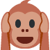 🙉 hear-no-evil monkey Emoji on Twitter Platform