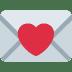 💌 love letter Emoji on Twitter Platform