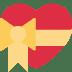 💝 heart with ribbon Emoji on Twitter Platform