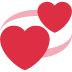 💞 revolving hearts Emoji on Twitter Platform