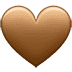 🤎 brown heart Emoji on Twitter Platform