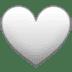 🤍 white heart Emoji on Twitter Platform