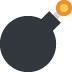 💣 bomb Emoji on Twitter Platform