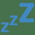 💤 zzz Emoji on Twitter Platform