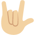 🤟🏼 love-you gesture: medium-light skin tone Emoji on Twitter Platform
