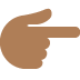 👉🏾 backhand index pointing right: medium-dark skin tone Emoji on Twitter Platform