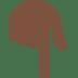 👇🏿 backhand index pointing down: dark skin tone Emoji on Twitter Platform