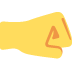 🤜 right-facing fist Emoji on Twitter Platform