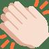 👏🏻 clapping hands: light skin tone Emoji on Twitter Platform