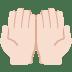 🤲🏻 palms up together: light skin tone Emoji on Twitter Platform